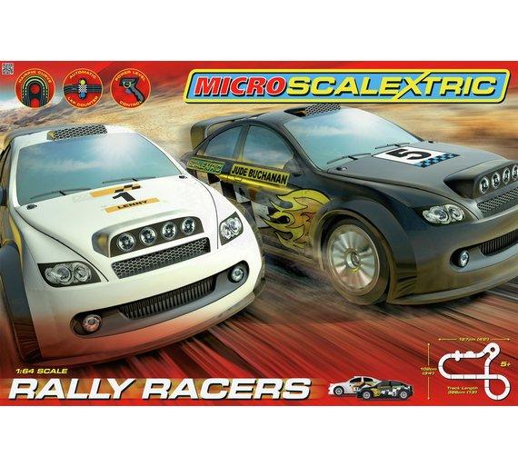Micro Scalextric 1:64 Scale Rally Racers Race Set now £20.99 C+C @ Argos