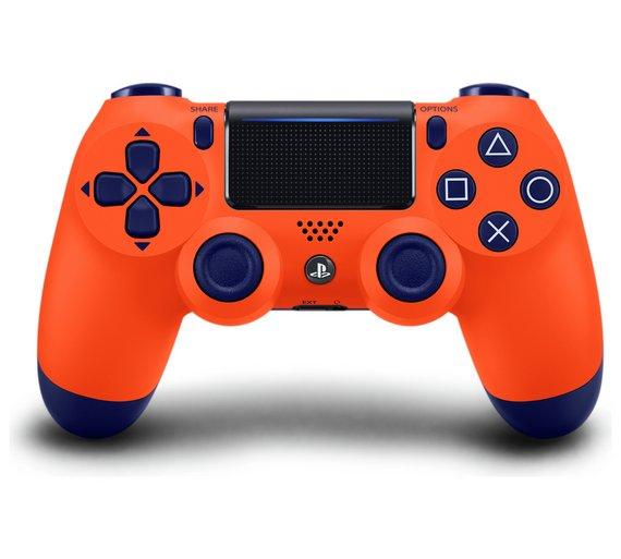 PlayStation PS4 Dualshock 4 DS4 Controller Sunset Orange Pre Order from Argos £49.99