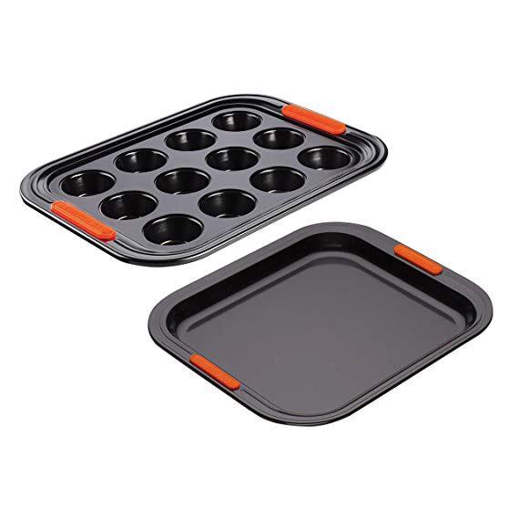 Le Creuset - Non-Stick Muffin Tray and Oven Tray, 31 cm £19.99 (Prime) / £24.48 (non Prime) at Amazon