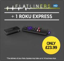 ROKU Express + Flatliners in HD £23.99 Delivered @ Rakuten TV