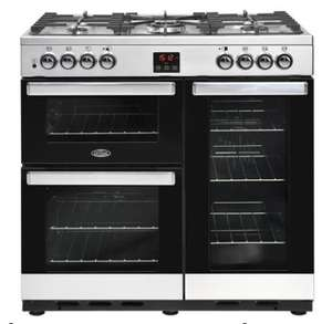 Belling Cookcentre 90DFT 90cm Dual Fuel Range Cooker £749.05 Delivered w/code @ Appliances Direct