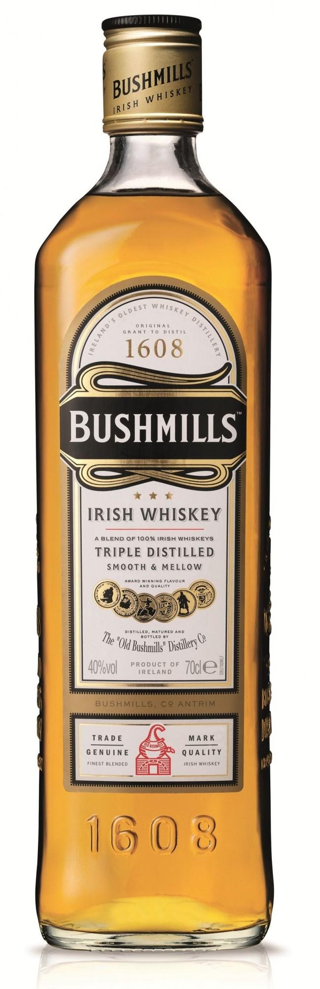 Bushmills Original Irish Whiskey 70cl £16 @ Tesco