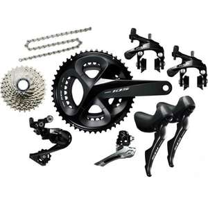 Shimano 105 R7000 Groupset £399.95 @ Merlin Cycles