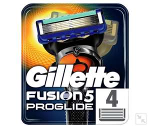 Gillette Fusion 2x4pk Blades Offer (e.g. Proglide 8 blades for £17.50) @ Morrisons - See description to get more discount
