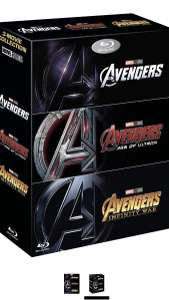 Avengers trilogy on blu-ray £30.99 @ SkyStore