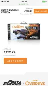 Anki Overdrive Fast and Furious Edition £119.99 @ Anki