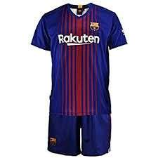 Barcelona junior football strips instore @ Nike outlet (Royal Quays, Newcastle) 50% off, tops £11, shorts £5