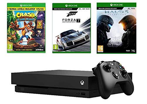 Xbox One X Forza 7 bundle + Crash Bandicoot + Halo 5  £449.99 @ Amazon