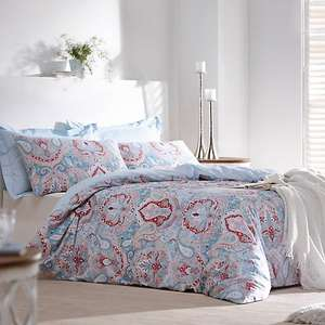 Shari Duvet Set + Pillow Case available in single/Double/King Size  70% OFF £7.50 @ Kaleidoscope