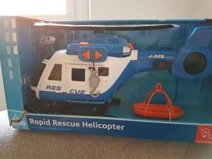Carousel Rapid rescue helicopter £2.25 instore @ Tesco extra Streatham