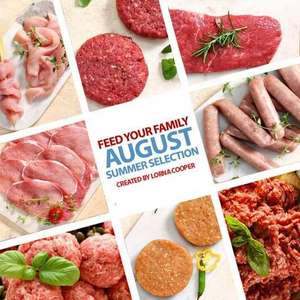 Muscle food offer -  August Summer Selection & extra hamper £65 plus free delivery