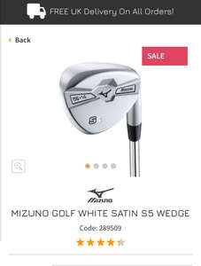 bad6ba03a6c7 Mizuno Golf S5 wedge s £29.50 delivered   Online golf