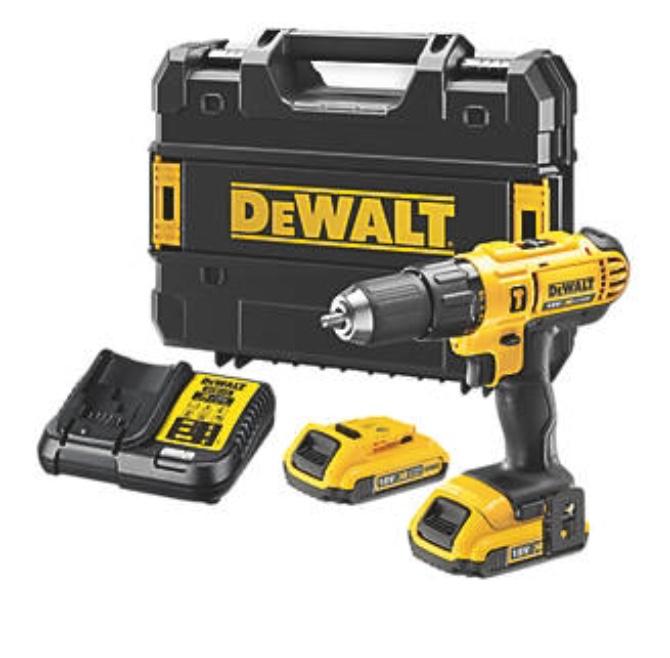 DEWALT DCD776D2T- GB 18V 2.0AH LI-ION XR CORDLESS COMBI DRILL £99.99 @ Screwfix