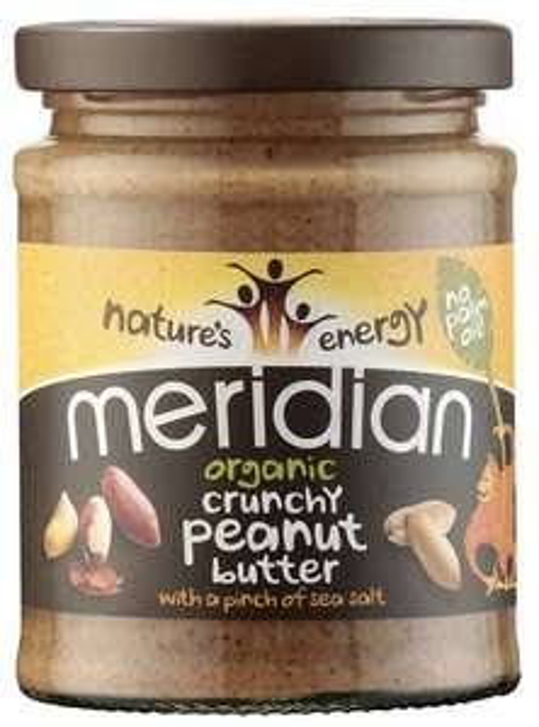 Meridian Natural Crunchy Peanut Butter 280g / £1.99 LIDL