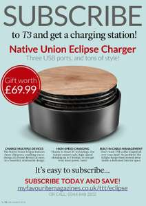 T3 Magazine - Six Magazines + Eclipse Charger worth £69.99 - £24.99 delivered @ My Favourite Magazine