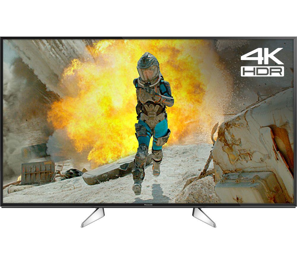 "PANASONIC TX-49EX580B 49"" Smart 4K Ultra HD HDR LED TV with voucher £422.10 @ Currys"