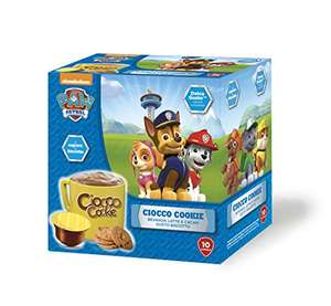 Paw Patrol Dolce Gusto Hot Chocolate capsules! One for the kids big or small, especially now the weather is getting cooler! Good deal for 60 capsules at Amazon for £20.17, was £25.74!