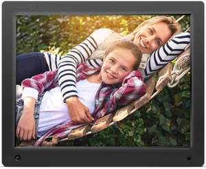 Nixplay Original 15 inch WiFi Cloud Digital Photo Frame - Compatible with mobile phone! - Hurry, already 60% reserved - Sold by CT and Fulfilled by Amazon £161.49