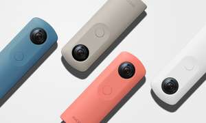Ricoh Theta SC 360 Degree Camera £109.99 w/voucher @ Amazon