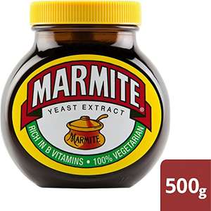 Marmite Yeast Extract Spread 500g £4 @ Amazon Pantry (FREE Delivery with 3 other qualifying items or £2.99 1st box)