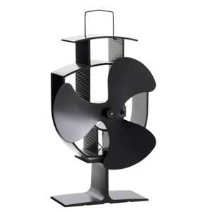 VonHaus log burner stove Fan £18.99 delivered @ Domu