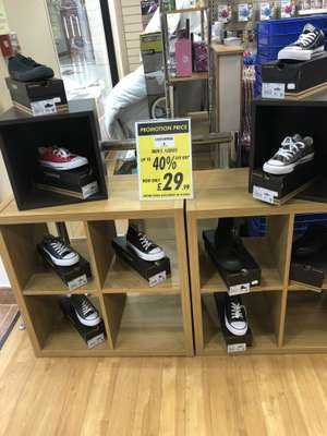 Converse all star trainers £29.99 @ Watt Brothers - Livingston