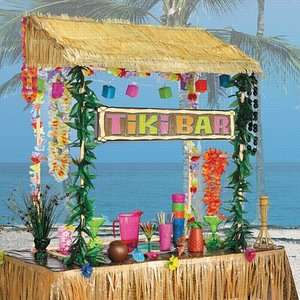 Table Top Tiki Bar Hut £24 Del / Large Tropical Palm Tree Inflatable Drinks Cooler £8 C+C  w/code @ The Works
