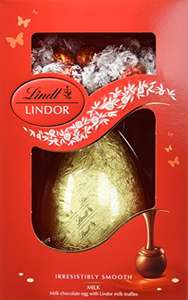 Lindor Easter Egg 285 g (Pack of 4) amazon prime £10.85 (£14.84 non Prime)