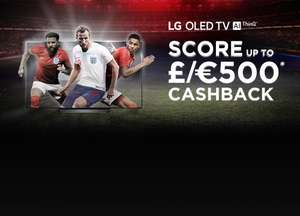 Annual LG OLED TV cashback carnage - upto £500/€500 on selected LG OLED from participating retailers.