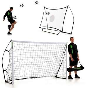 Quickplay Combo Football Rebounder / Goal 8X5 £29.99 instore @ Lidl
