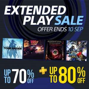 Extended Play Sale at PlayStation PSN Store Indonesia - FIFA 18 £9.80 Need for Speed £4.54 TitanFall 2 £4.54 Use code Q47P88JHHJ for additional 20% discount