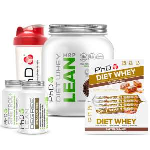 PhD Diet Whey MRP with Bars, Lean Degree and Sinetrol £39.99 @ PHD