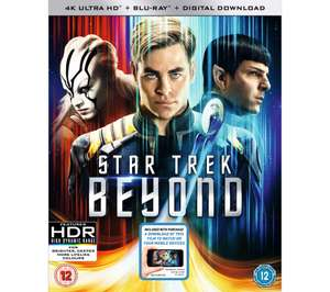 UNIVERSAL Star Trek: Beyond 4K UHD + Blu Ray + Digital Download £9.97 @ Currys