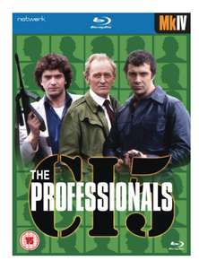 The Professionals Mk IV Blu ray Set £6 Direct from Networkonair Free delivery.