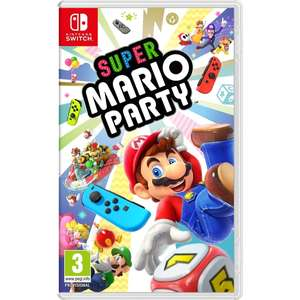[Nintendo Switch]  Super Mario Party - £37.95 Delivered - TheGameCollection / £37.99 (C&C) - Smyths