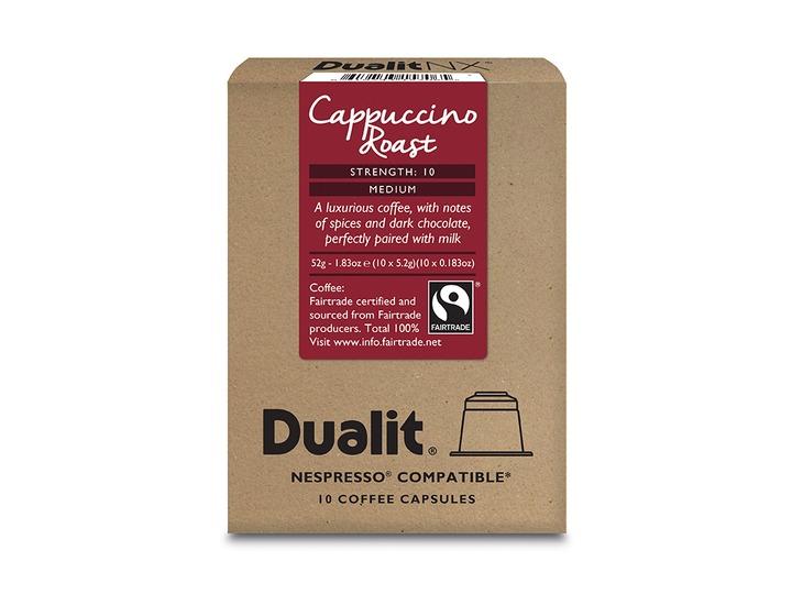 Dualit Cappuccino Roast Capsules - £4.80 for 60 (8p per capsule!) @ Dualit