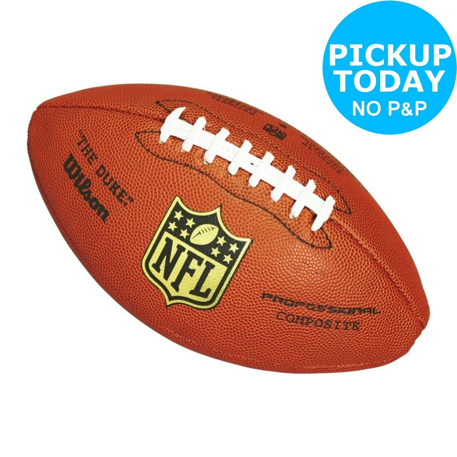Wilson The Duke Replica NFL American Football - £12.99 + Free C&C @ Argos eBay