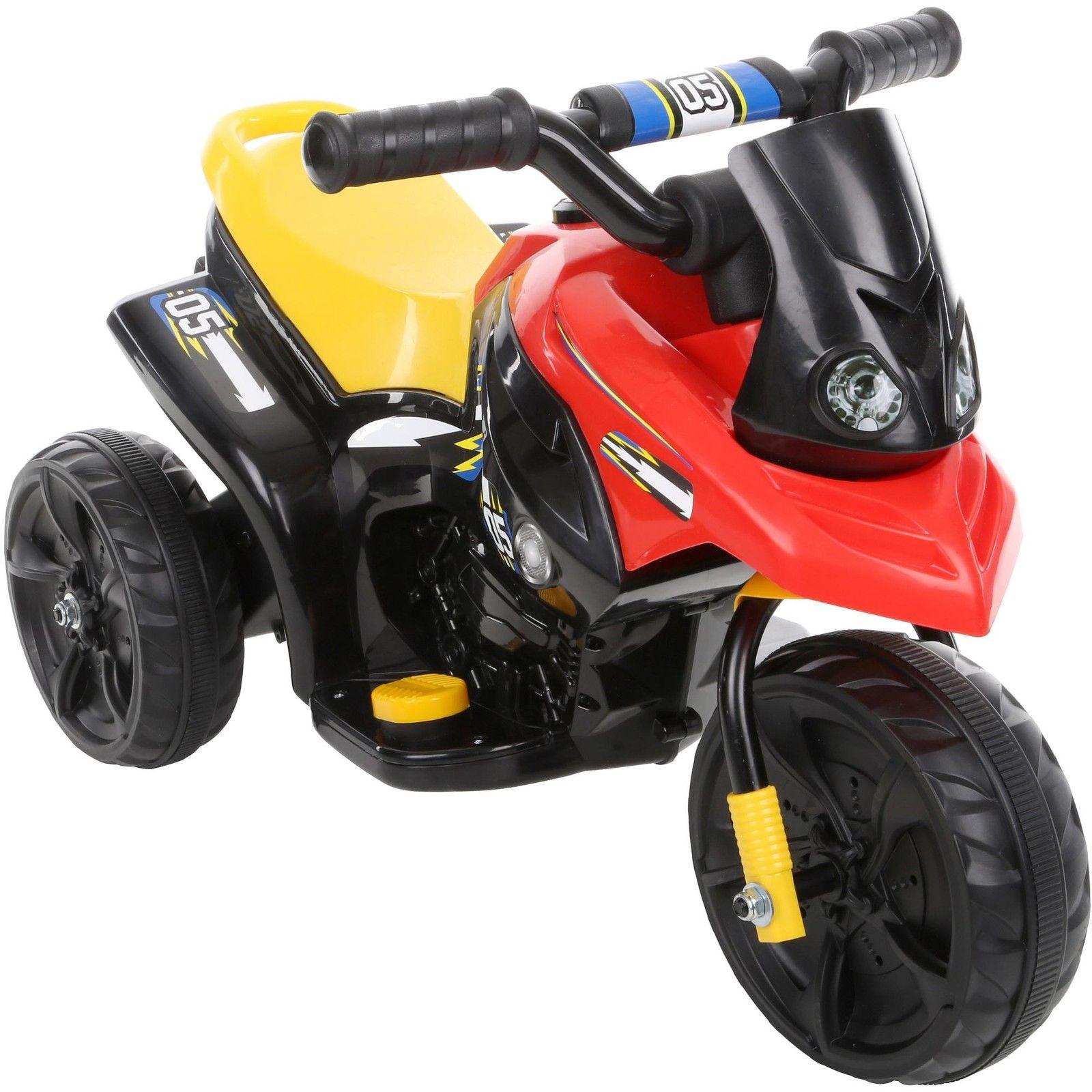 6V Kids Ride On Trike - Black £15 @ Halfords - eBay - Free C&C
