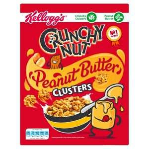 Kellogg's Crunchy Nut Peanut Butter Clusters 525g £2 @ Asda