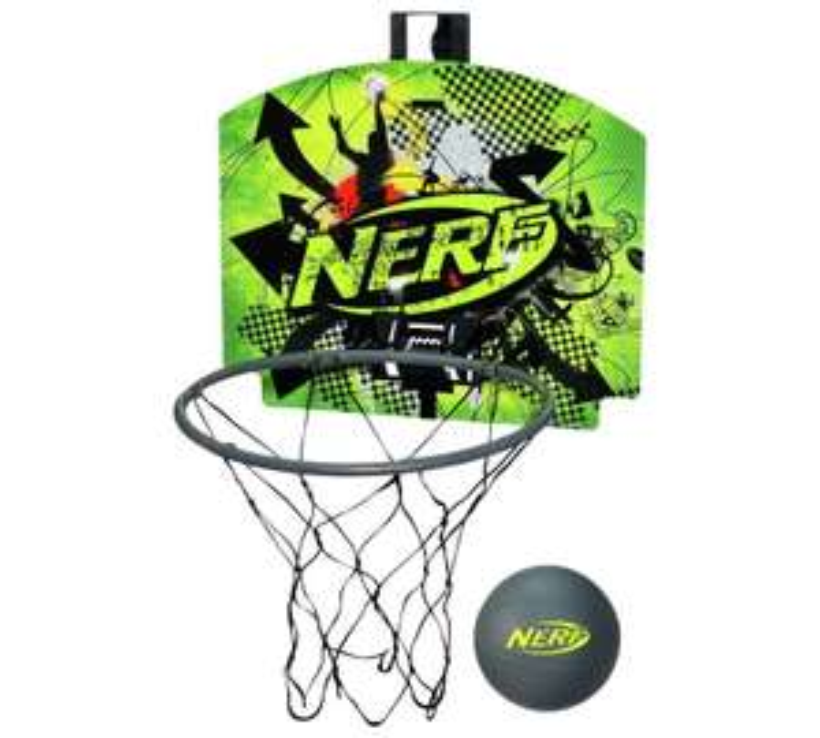 Nerf Sports Nerfoop Basketball Net Set £5.00 Instore @ Sainsbury's