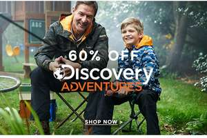 60% off Discovery Adventures Range @ Craghopper