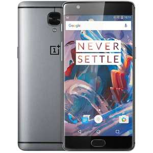 """OnePlus 3 (5.5"""" 1080p Amoled, Snapdragon 820, 6GB RAM, 64GB memory, NFC, 16MP) £144.40 Delivered with code @ Geekbuying"""