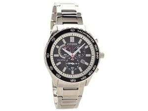 Citizen AT2380-51E Stainless Steel Eco-Drive Chronograph Bracelet Watch - W38102 £112.49 @ F.hinds