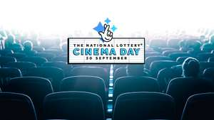 National Lottery Free Cinema Day with purchase of Lottery Ticket @ BFI Southbank London Only - 30th September 2018