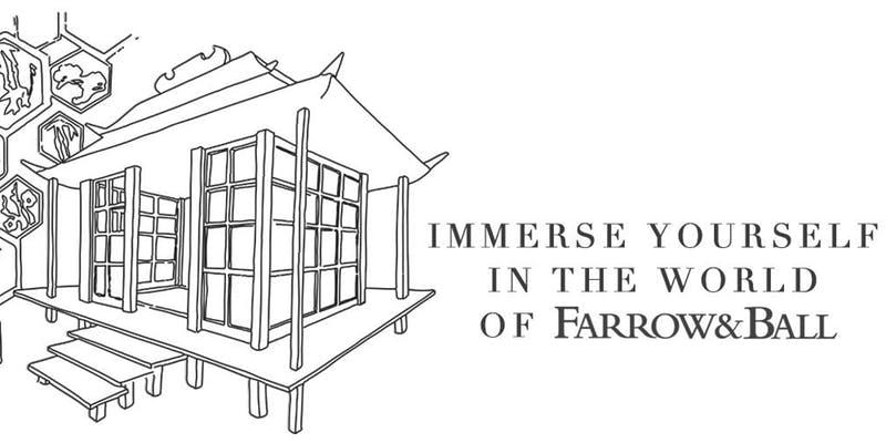 Farrow & Ball Immersive Event for London Design Festival - Free event