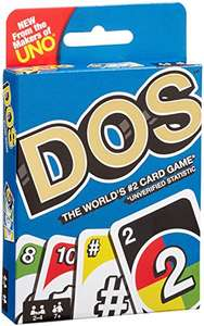 Dos card game from the makers of UNO is finally in the UK £8.77 Prime / £9.76 Non Prime @ Amazon