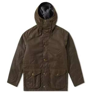 Barbour Byrn Wax Jacket - Olive 100% Waxed Cotton - £120 @ Griggs