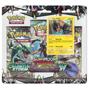 9x Pokémon Sun & Moon Guardians Rising Booster Packs - £24.85 @ ChaosCards (with code)