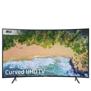 """Samsung 55NU7300 55"""" Curved Smart 4K Ultra HD HDR LED @ QVC £614.91 delivered. (Ends Midnight)"""