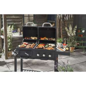 Wilko BBQ Charcoal / Gas Grill Dual Fuel was £175 + £8 Del now £125 + £8 Del @ Wilko
